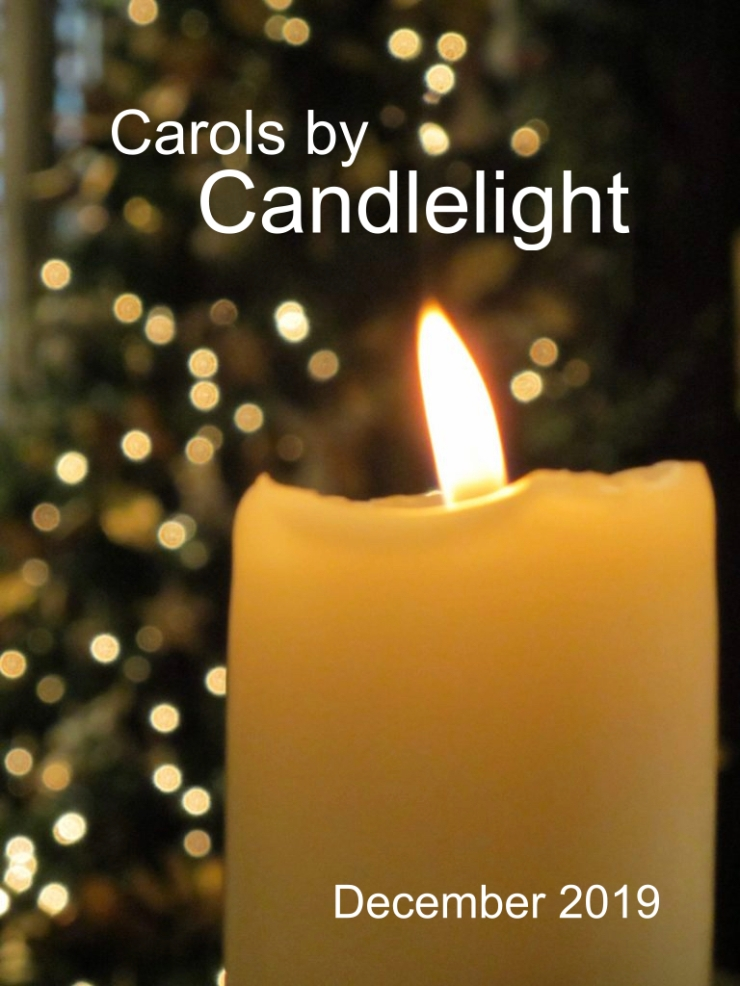 Carols by Candlelight - Dec 2019 - Temporary Poster