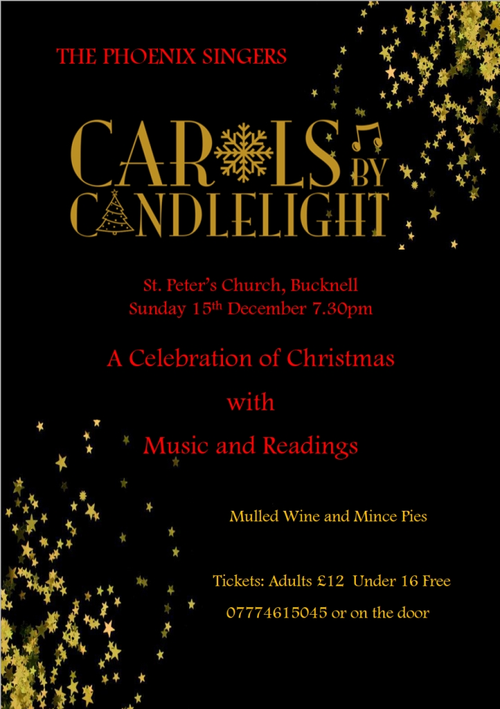 Carols by Candlelight - Dec 2019 - Full Poster
